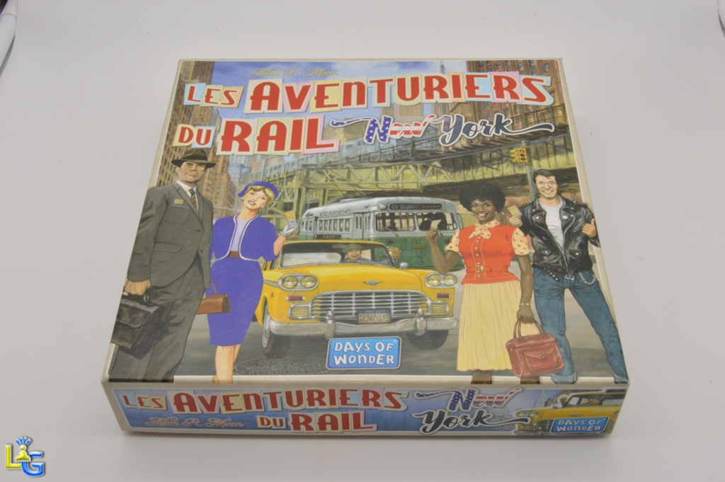Les Aventuriers du Rail - New York - 1