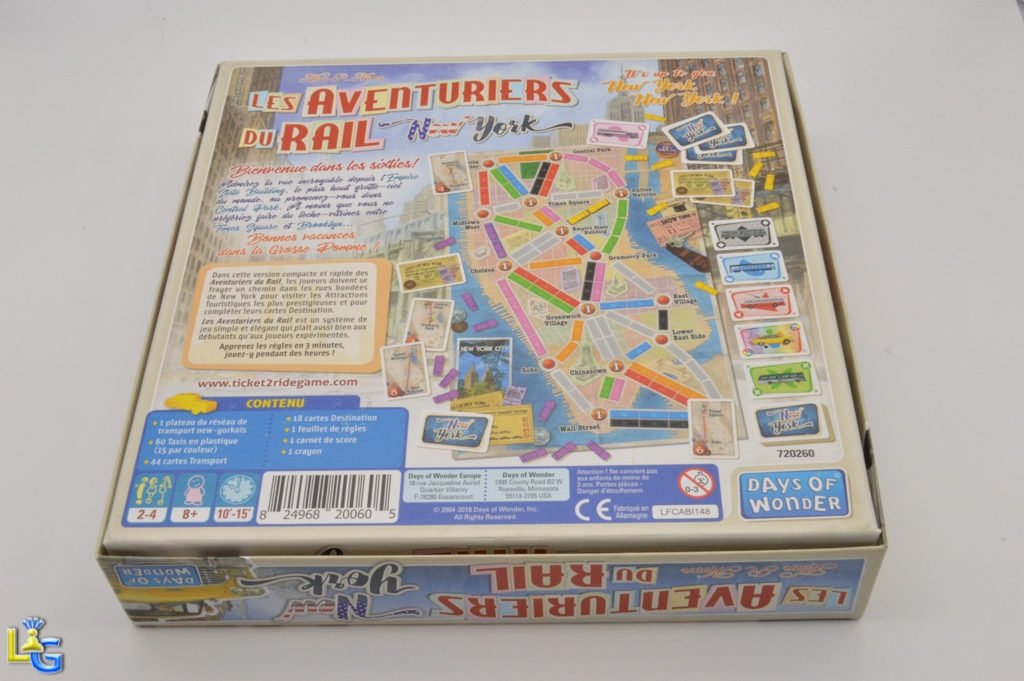 Les Aventuriers du Rail - New York - 6