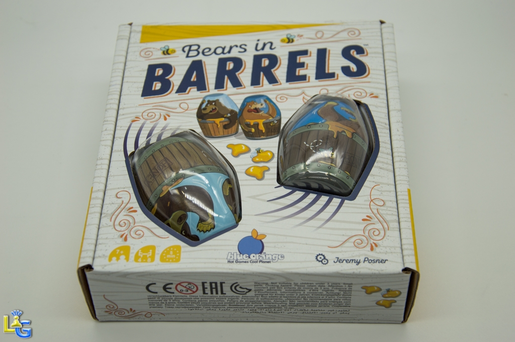 Bears in Barrels - 1