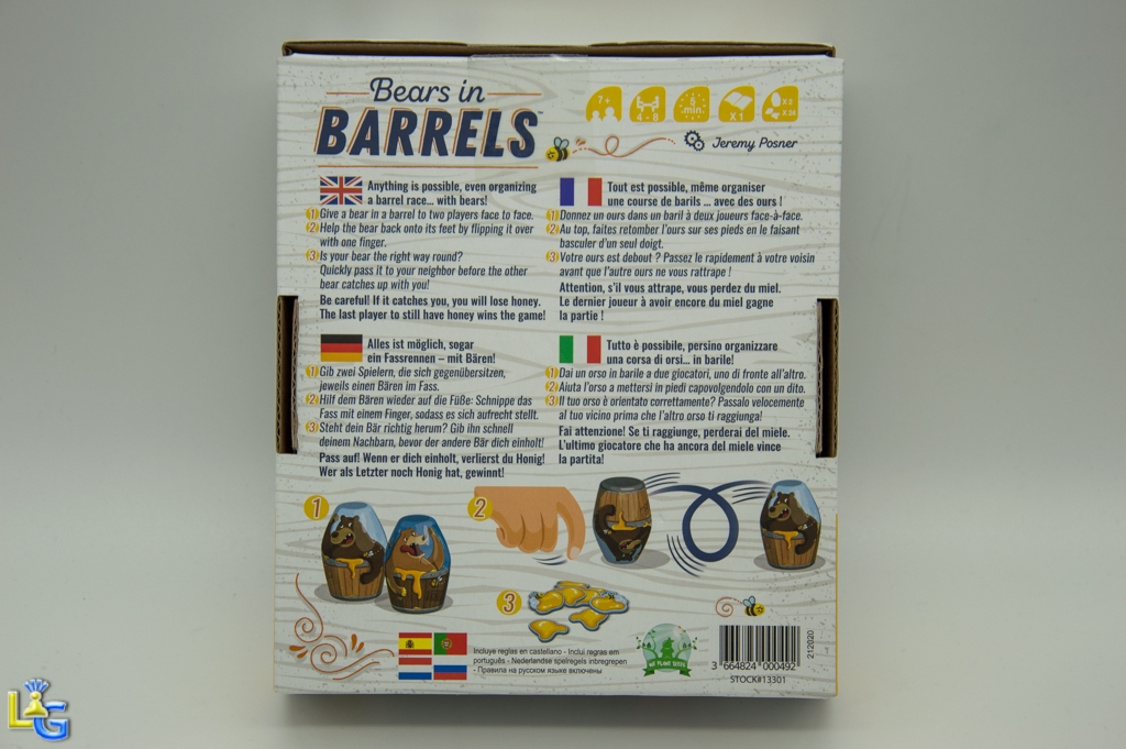 Bears in Barrels - 6