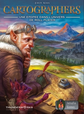 [Avis] Cartographers: A Roll Player Tale par LudiGaume