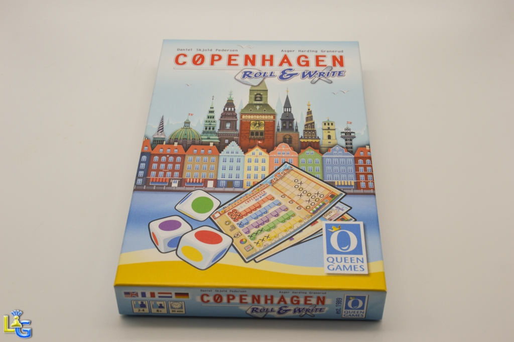 Copenhagen - Roll & Write - 1