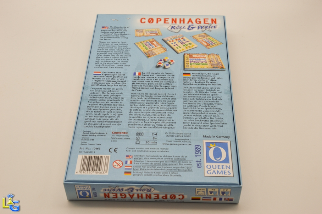 Copenhagen - Roll & Write - 9