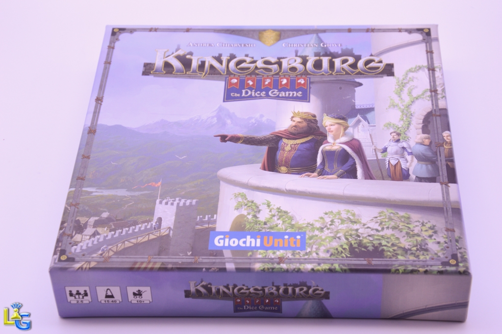 Kingsburg: The Dice Game - 1