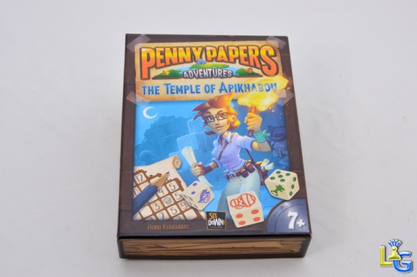 Penny Papers Adventures : Le Temple de Apikhabou - 1