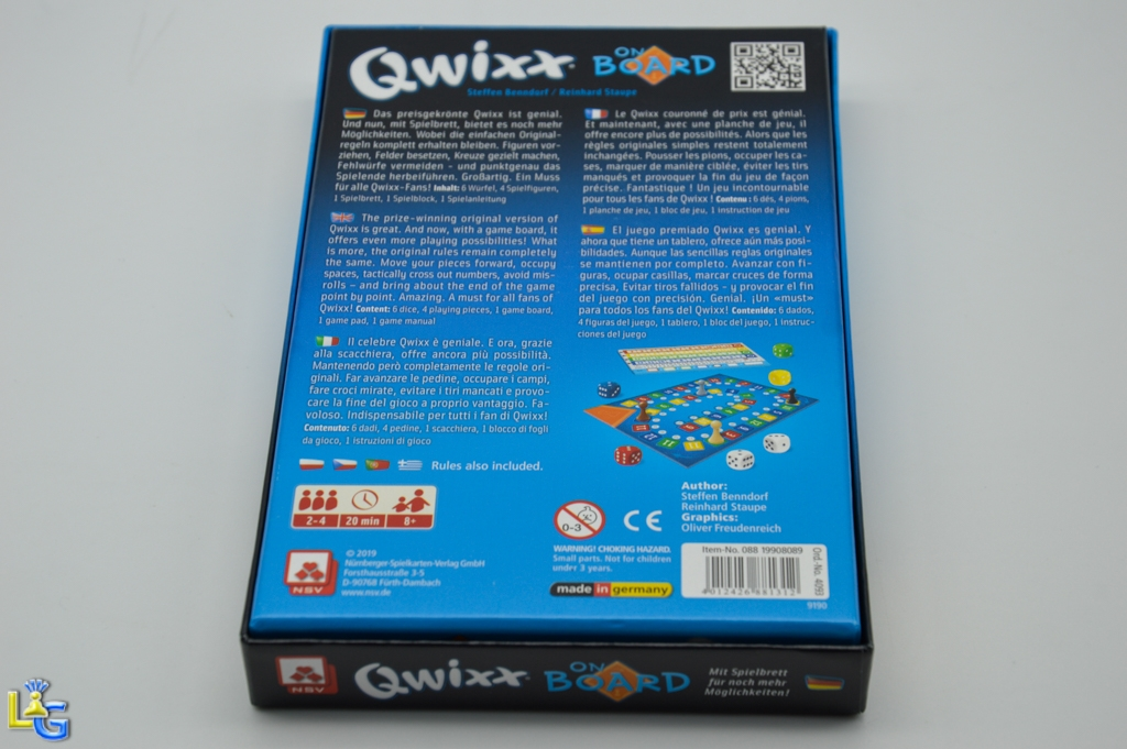 Qwixx On Board - 5